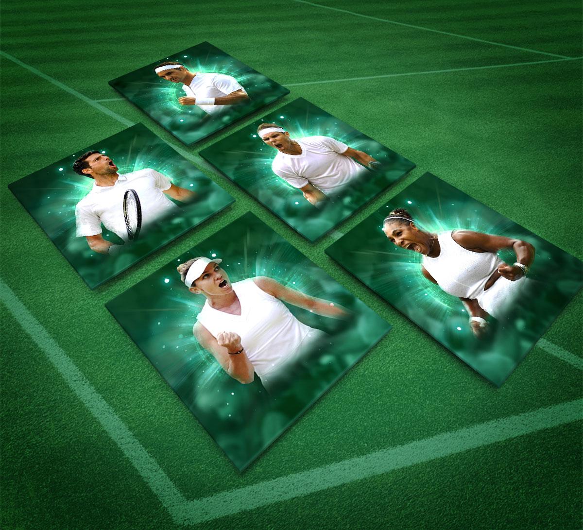 Wimbledon Tennis Top Players