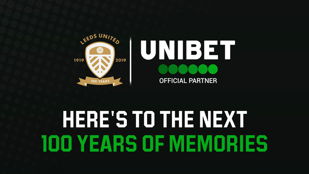 Leeds United Centenary Advert