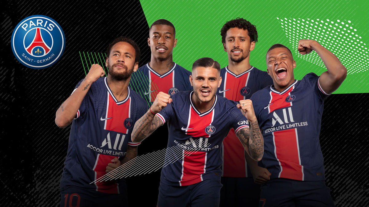 Paris Saint-Germain Sponsorship Image
